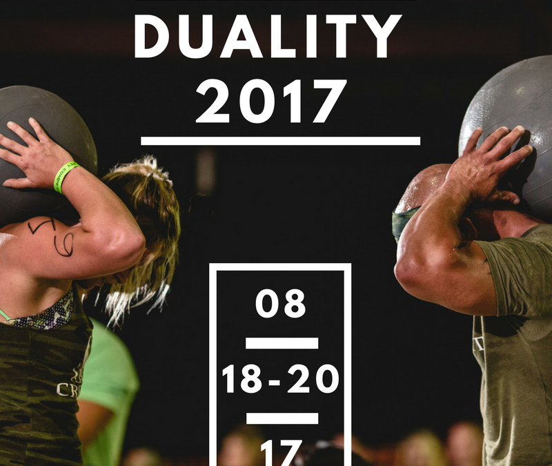 Duality 2017: New Format for Rx Athletes