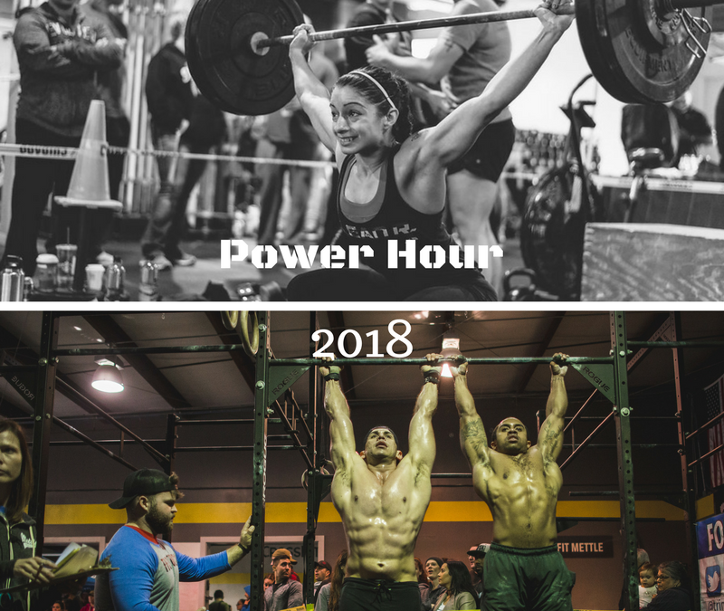 Power Hour 2018: Become A Host Gym