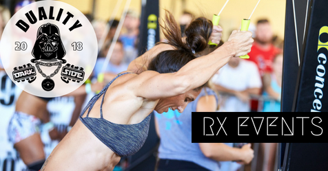 DUALITY 2018: RX EVENTS